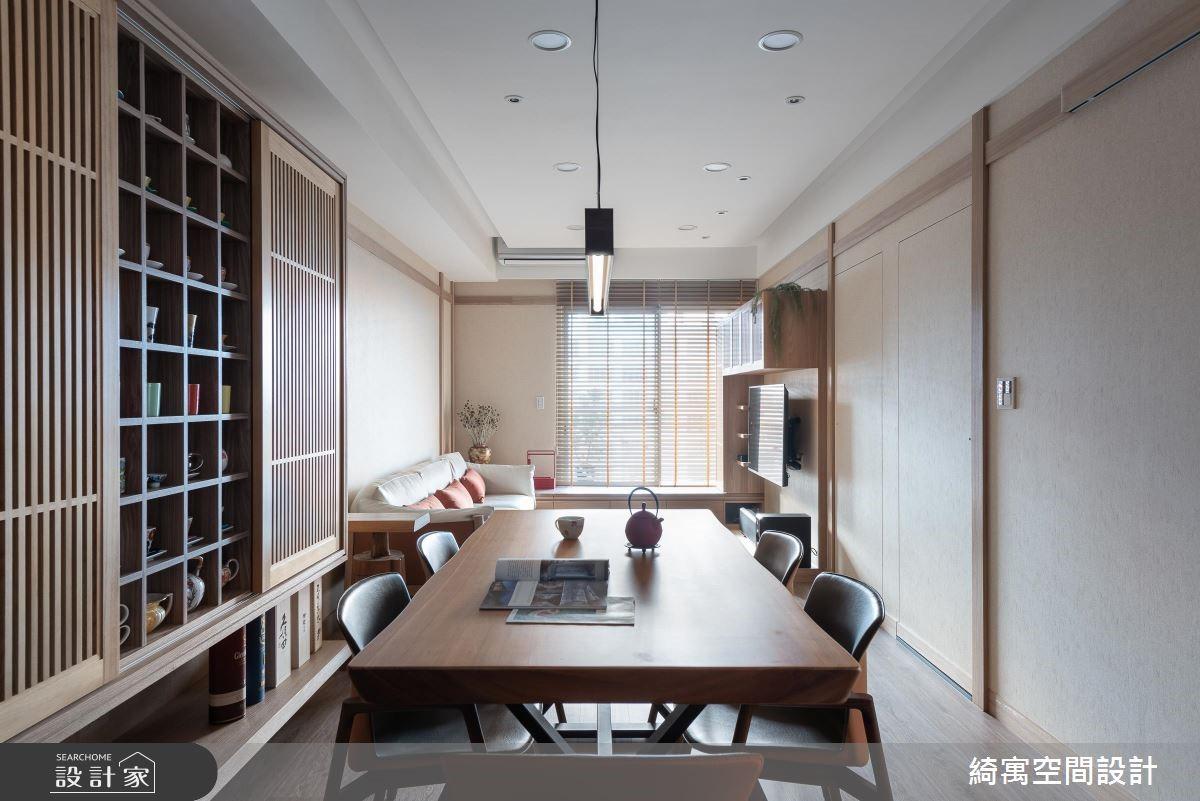 18坪新成屋(5年以下)_人文禪風餐廳案例圖片_綺寓空間設計_綺寓_24之4