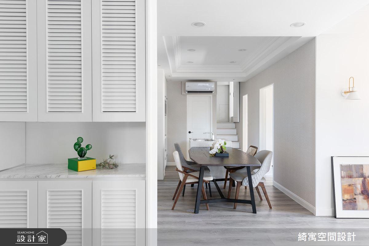 21坪新成屋(5年以下)_美式風玄關餐廳案例圖片_綺寓空間設計_綺寓_25之2