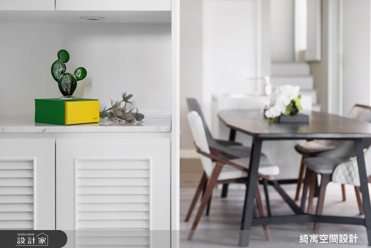 21坪新成屋(5年以下)_美式風玄關餐廳案例圖片_綺寓空間設計_綺寓_25之3
