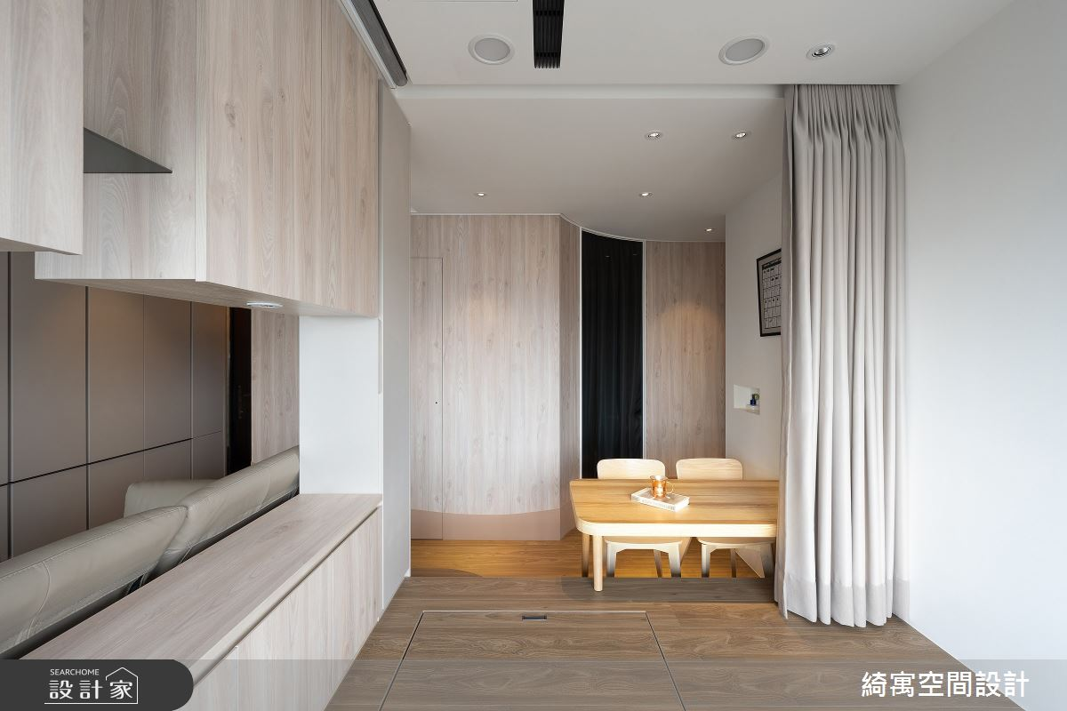 15坪新成屋(5年以下)_現代風案例圖片_綺寓空間設計_綺寓_30之14
