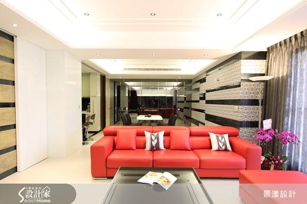 52坪新成屋(5年以下)_現代風案例圖片_景漾建築空間設計_景漾_02之1
