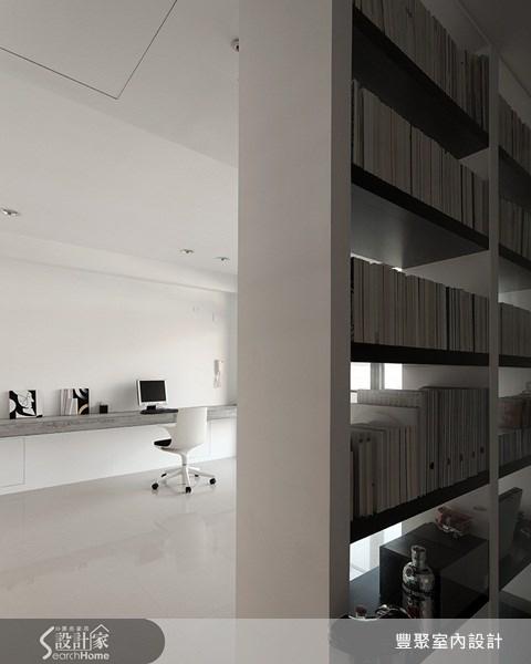 70坪新成屋(5年以下)_簡約風書房案例圖片_豐聚室內設計_豐聚_02之16