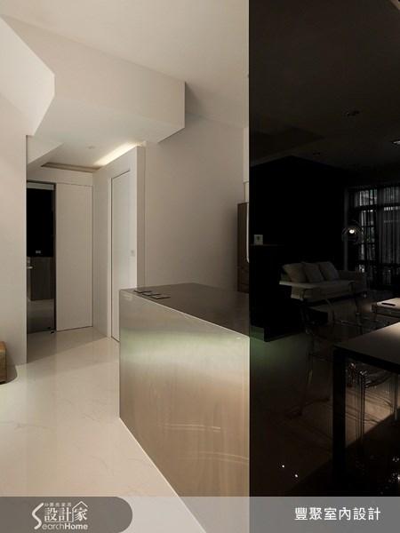 70坪新成屋(5年以下)_簡約風玄關案例圖片_豐聚室內設計_豐聚_02之10