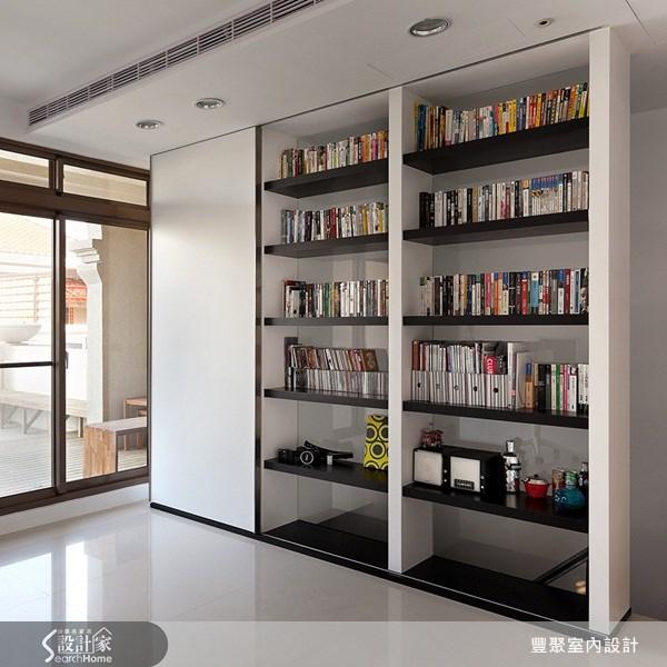 70坪新成屋(5年以下)_簡約風書房案例圖片_豐聚室內設計_豐聚_02之15