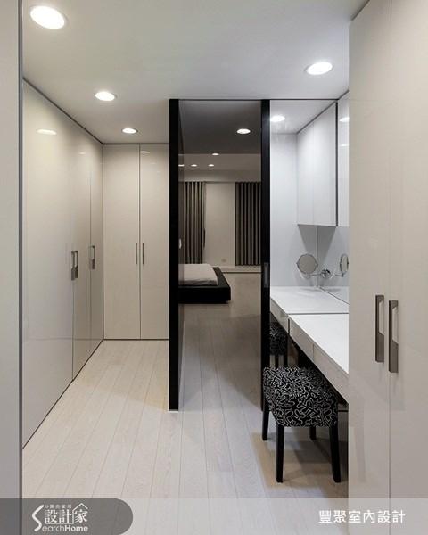 70坪新成屋(5年以下)_簡約風更衣間案例圖片_豐聚室內設計_豐聚_02之22