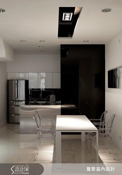 70坪新成屋(5年以下)_簡約風餐廳案例圖片_豐聚室內設計_豐聚_02之8