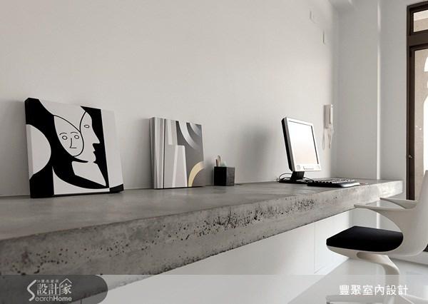 70坪新成屋(5年以下)_簡約風書房案例圖片_豐聚室內設計_豐聚_02之14