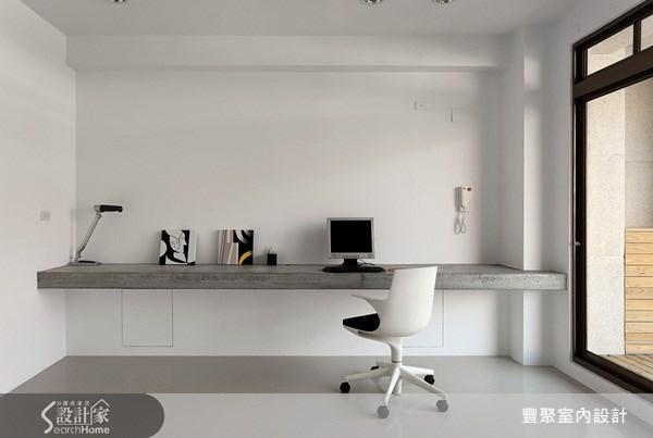 70坪新成屋(5年以下)_簡約風書房案例圖片_豐聚室內設計_豐聚_02之13