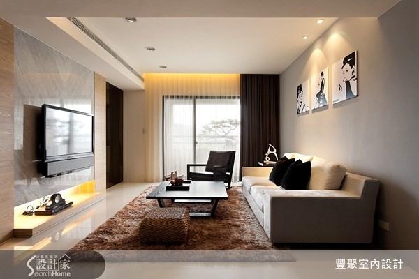 50坪中古屋(5~15年)_休閒風客廳案例圖片_豐聚室內設計_豐聚_04之4