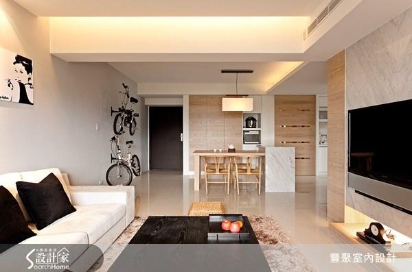 50坪中古屋(5~15年)_休閒風客廳案例圖片_豐聚室內設計_豐聚_04之5