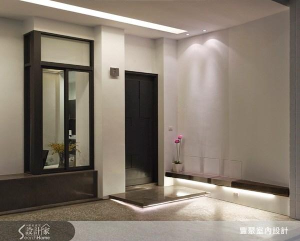 75坪中古屋(5~15年)_現代風玄關案例圖片_豐聚室內設計_豐聚_05之2