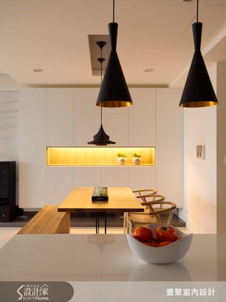 40坪預售屋_現代風餐廳案例圖片_豐聚室內設計_豐聚_07之8