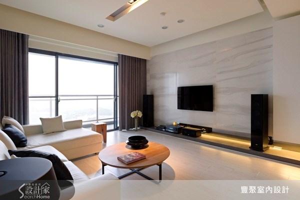 40坪預售屋_現代風客廳案例圖片_豐聚室內設計_豐聚_07之3
