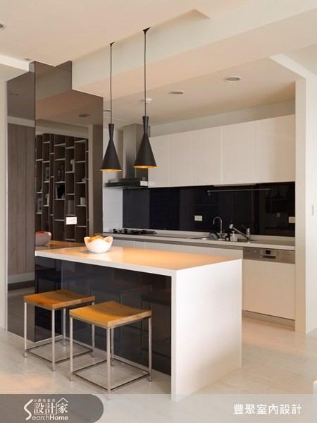 40坪預售屋_現代風餐廳廚房案例圖片_豐聚室內設計_豐聚_07之7