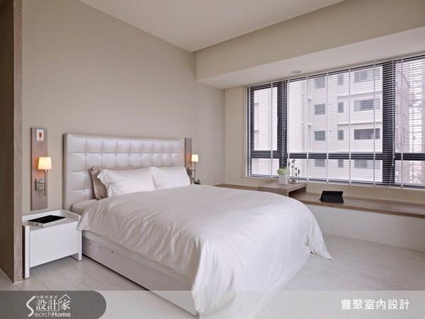 40坪預售屋_現代風臥室案例圖片_豐聚室內設計_豐聚_07之12
