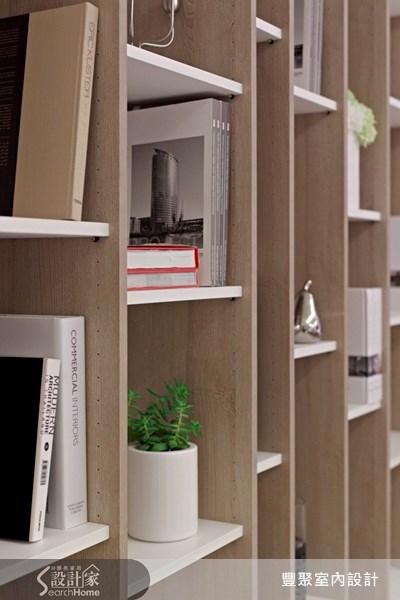40坪預售屋_現代風書房案例圖片_豐聚室內設計_豐聚_07之11
