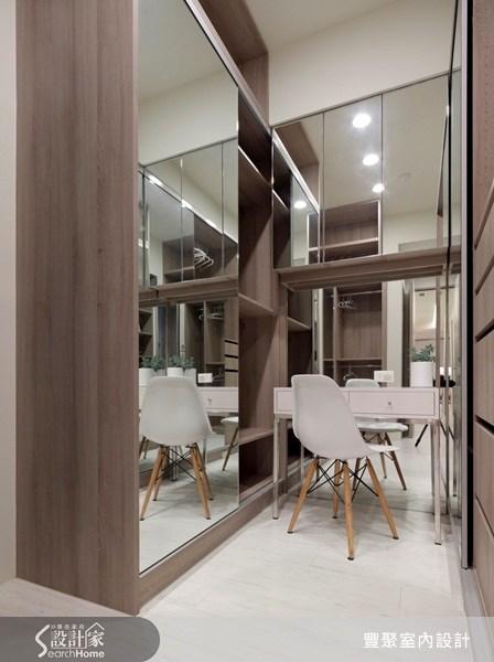 40坪預售屋_現代風更衣間案例圖片_豐聚室內設計_豐聚_07之13