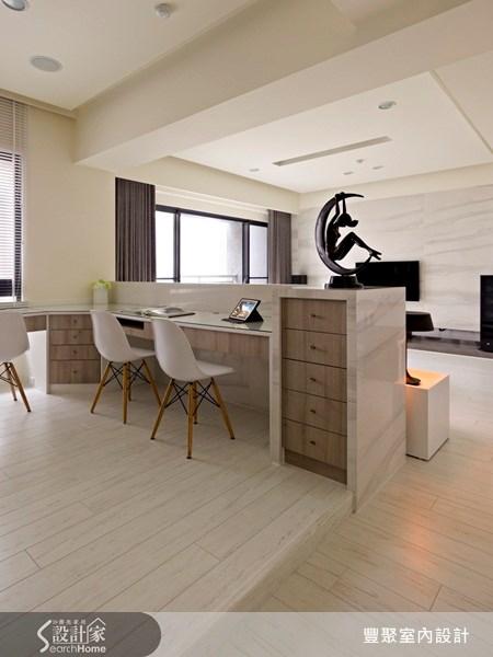 40坪預售屋_現代風書房案例圖片_豐聚室內設計_豐聚_07之9