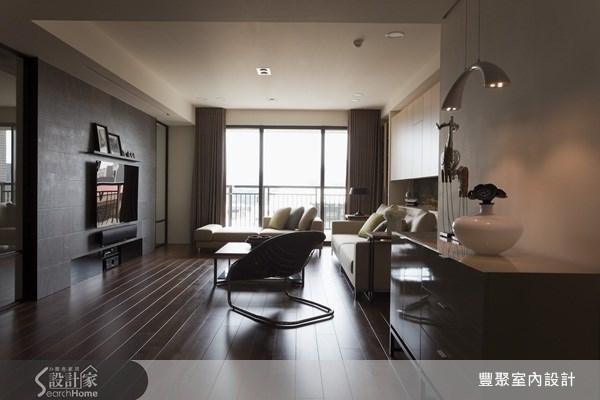 45坪新成屋(5年以下)_休閒風客廳案例圖片_豐聚室內設計_豐聚_08之3