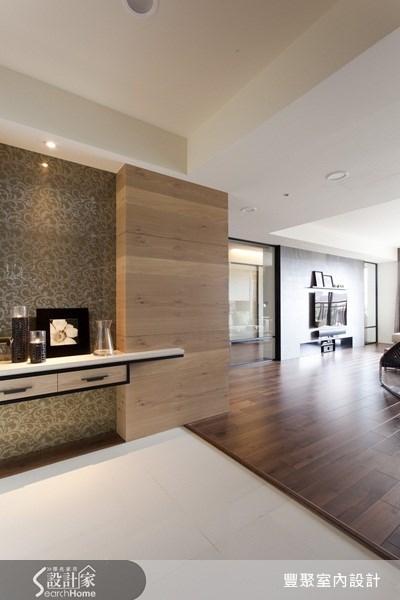 45坪新成屋(5年以下)_休閒風玄關案例圖片_豐聚室內設計_豐聚_08之1