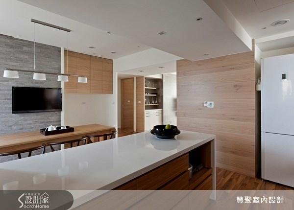 42坪中古屋(5~15年)_休閒風客廳餐廳案例圖片_豐聚室內設計_豐聚_09之5