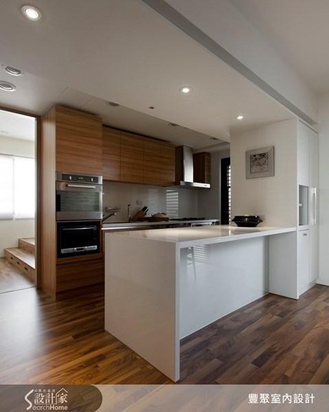42坪中古屋(5~15年)_休閒風廚房案例圖片_豐聚室內設計_豐聚_09之6
