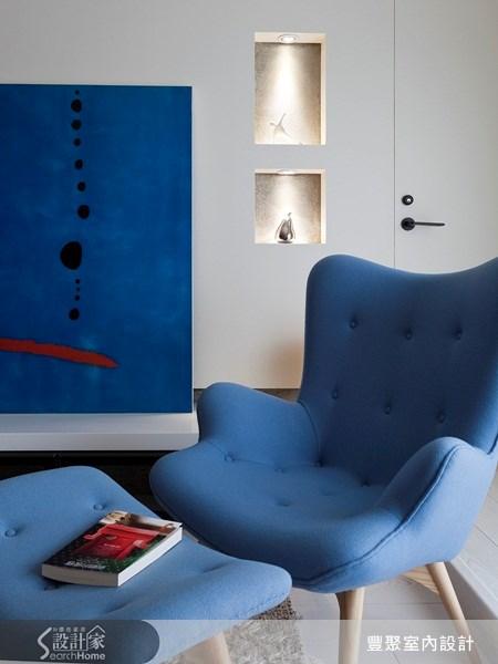 23坪新成屋(5年以下)_北歐風客廳案例圖片_豐聚室內設計_豐聚_11之4