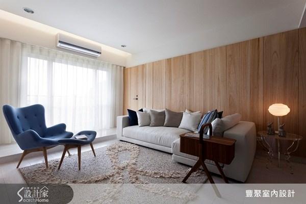 23坪新成屋(5年以下)_北歐風客廳案例圖片_豐聚室內設計_豐聚_11之2