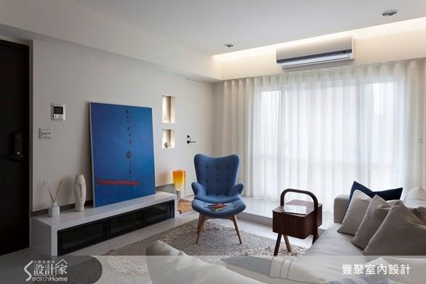 23坪新成屋(5年以下)_北歐風客廳案例圖片_豐聚室內設計_豐聚_11之3
