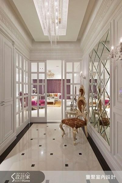 47坪新成屋(5年以下)_新古典玄關客廳案例圖片_豐聚室內設計_豐聚_12之1