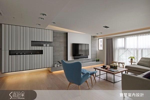 40坪中古屋(5~15年)_北歐風客廳案例圖片_豐聚室內設計_豐聚_13之4