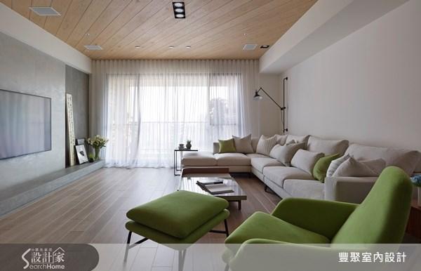 54坪新成屋(5年以下)_現代風客廳案例圖片_豐聚室內設計_豐聚_14之3