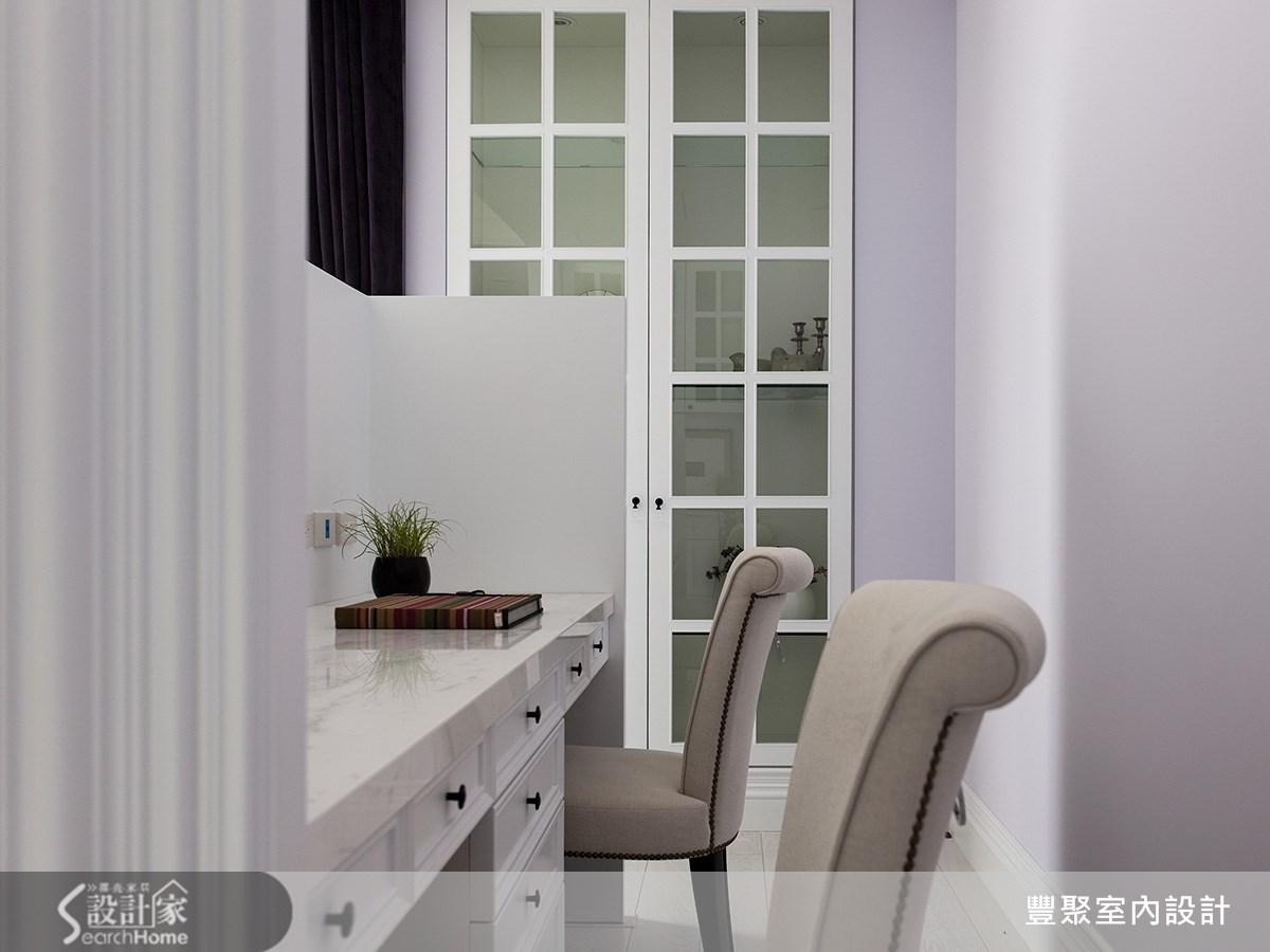 90坪新成屋(5年以下)_新古典臥室案例圖片_豐聚室內設計_豐聚_15之13