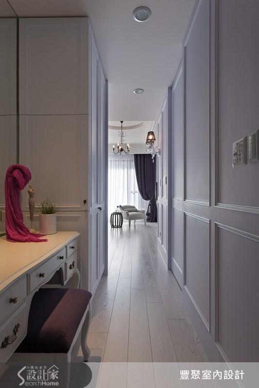 90坪新成屋(5年以下)_新古典走廊案例圖片_豐聚室內設計_豐聚_15之14