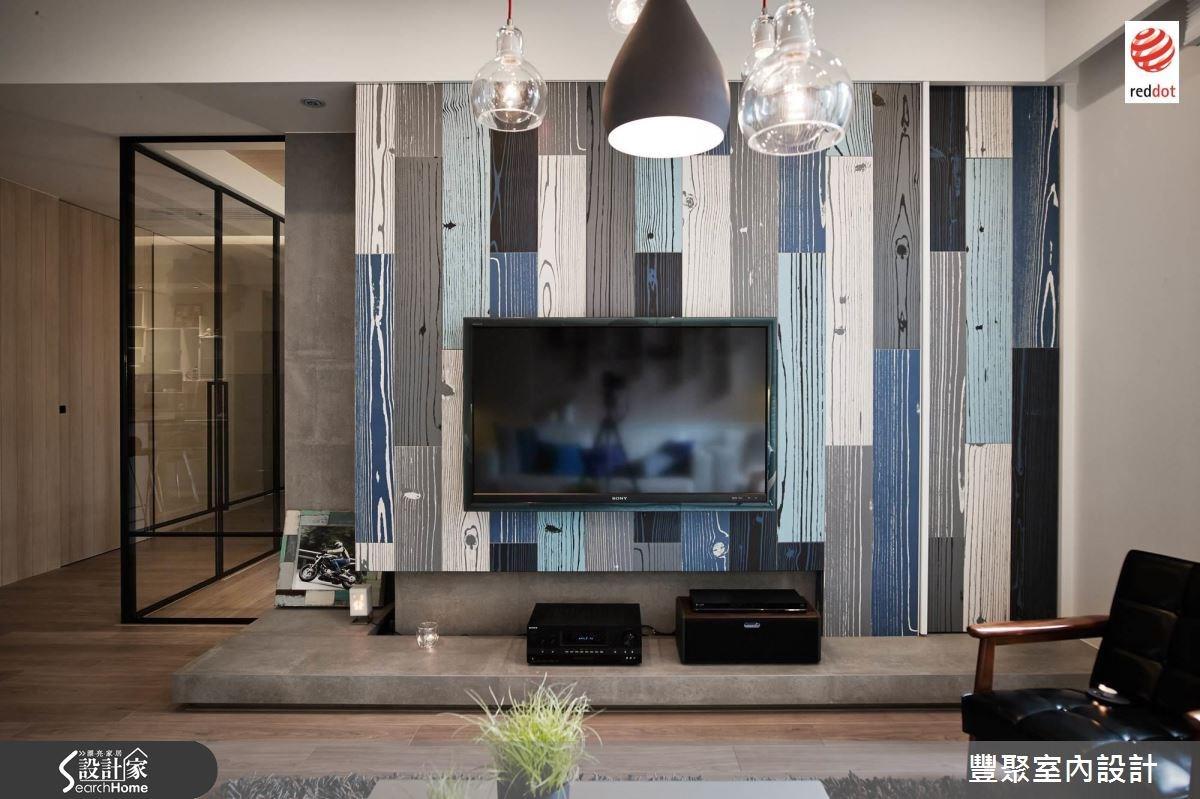 40坪新成屋(5年以下)_北歐風客廳案例圖片_豐聚室內設計_豐聚_17之2