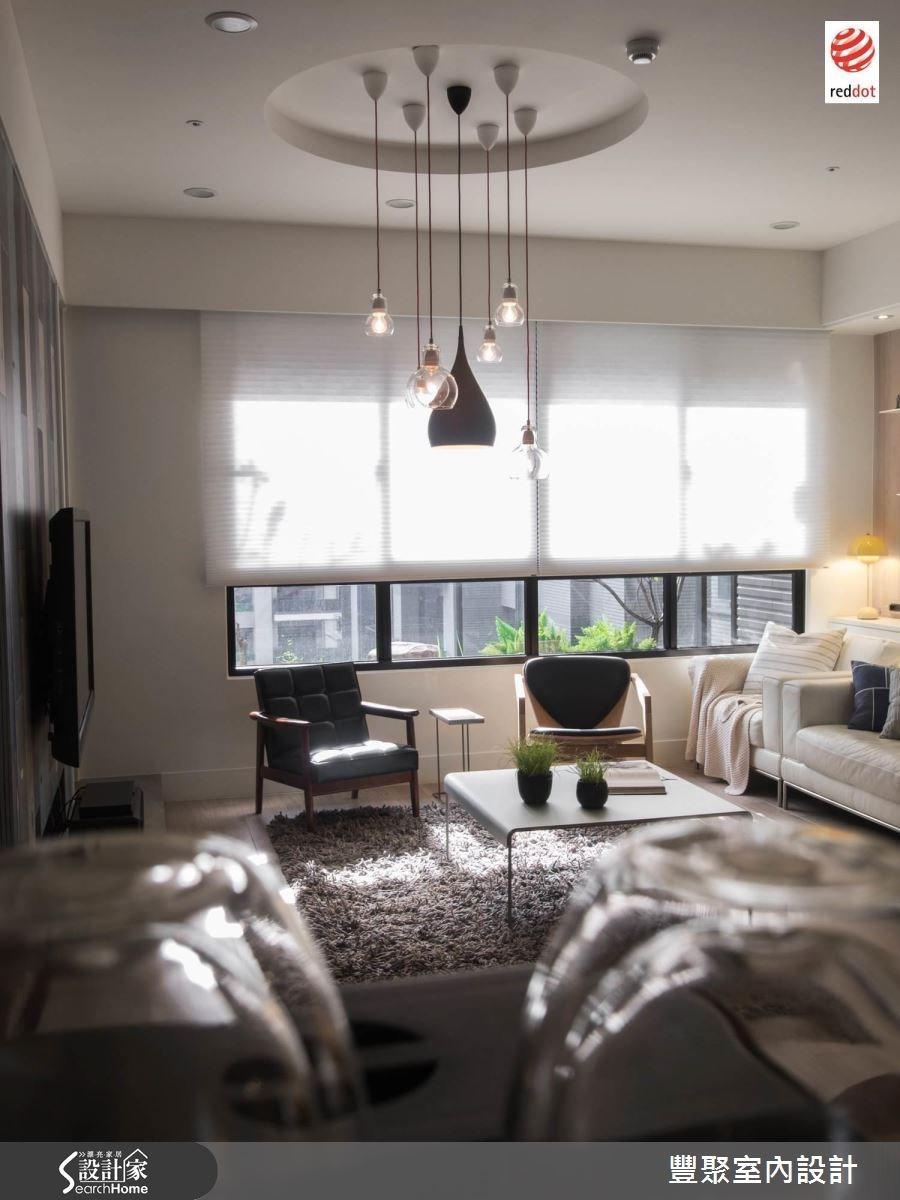 40坪新成屋(5年以下)_北歐風客廳案例圖片_豐聚室內設計_豐聚_17之3