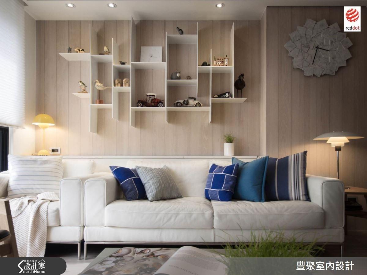 40坪新成屋(5年以下)_北歐風客廳案例圖片_豐聚室內設計_豐聚_17之4