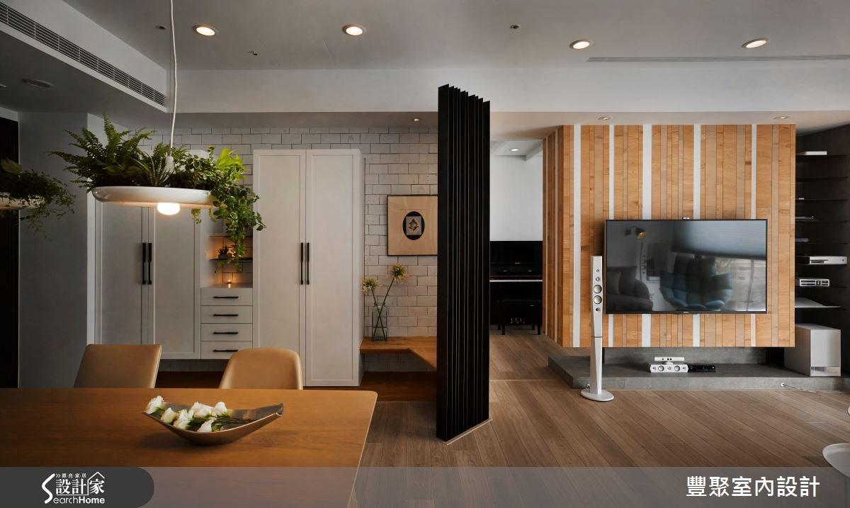 23坪新成屋(5年以下)_北歐風餐廳案例圖片_豐聚室內設計_豐聚_18之3