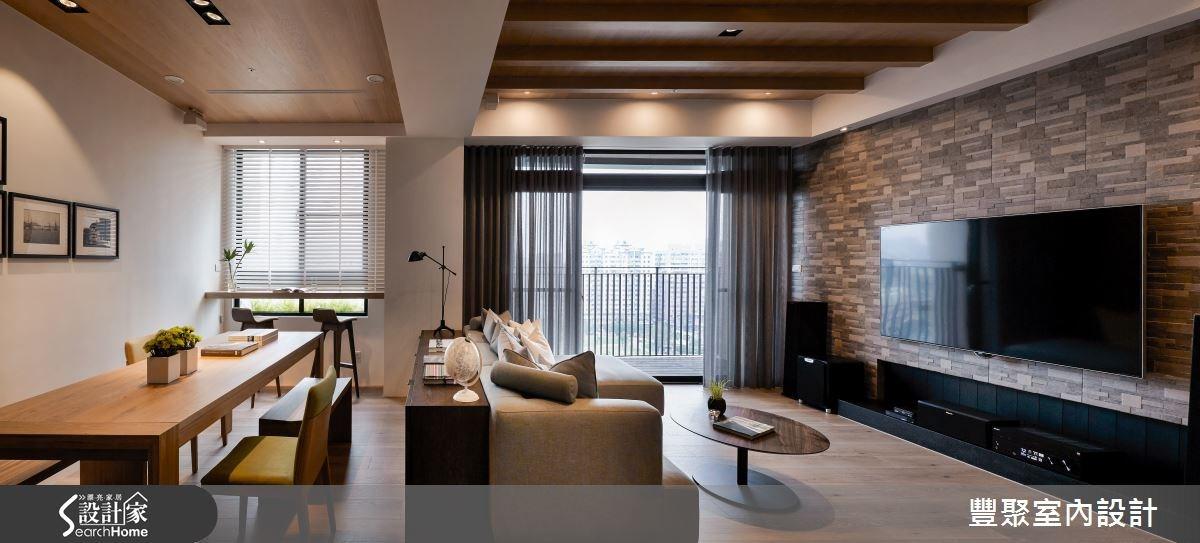 新成屋(5年以下)_北歐風客廳案例圖片_豐聚室內設計_豐聚_19之5