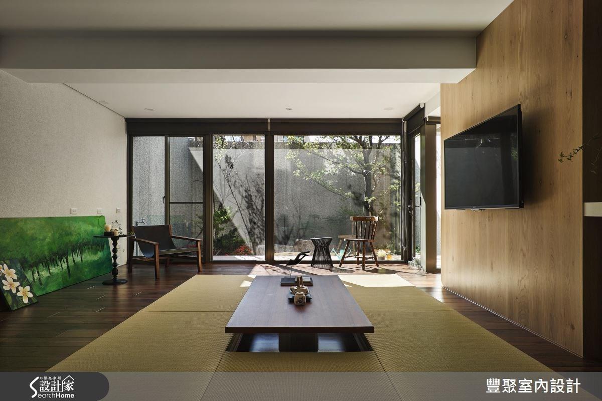 45坪_現代風和室案例圖片_豐聚室內設計_豐聚_20之3