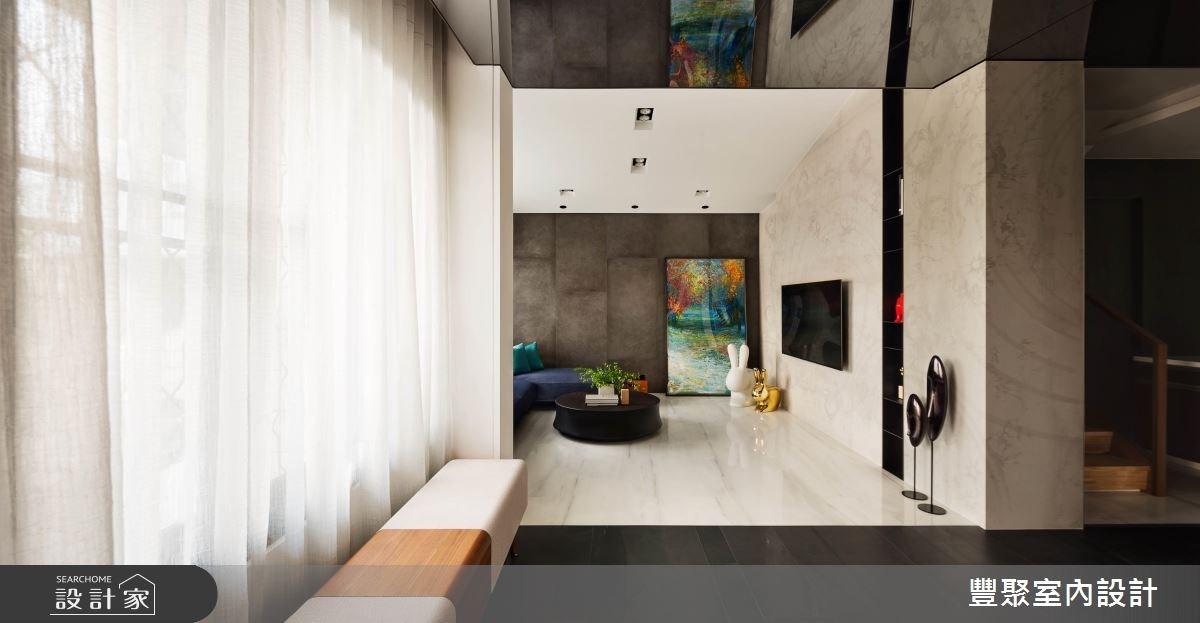 32坪老屋(16~30年)_現代風玄關客廳案例圖片_豐聚室內設計_豐聚_22之2