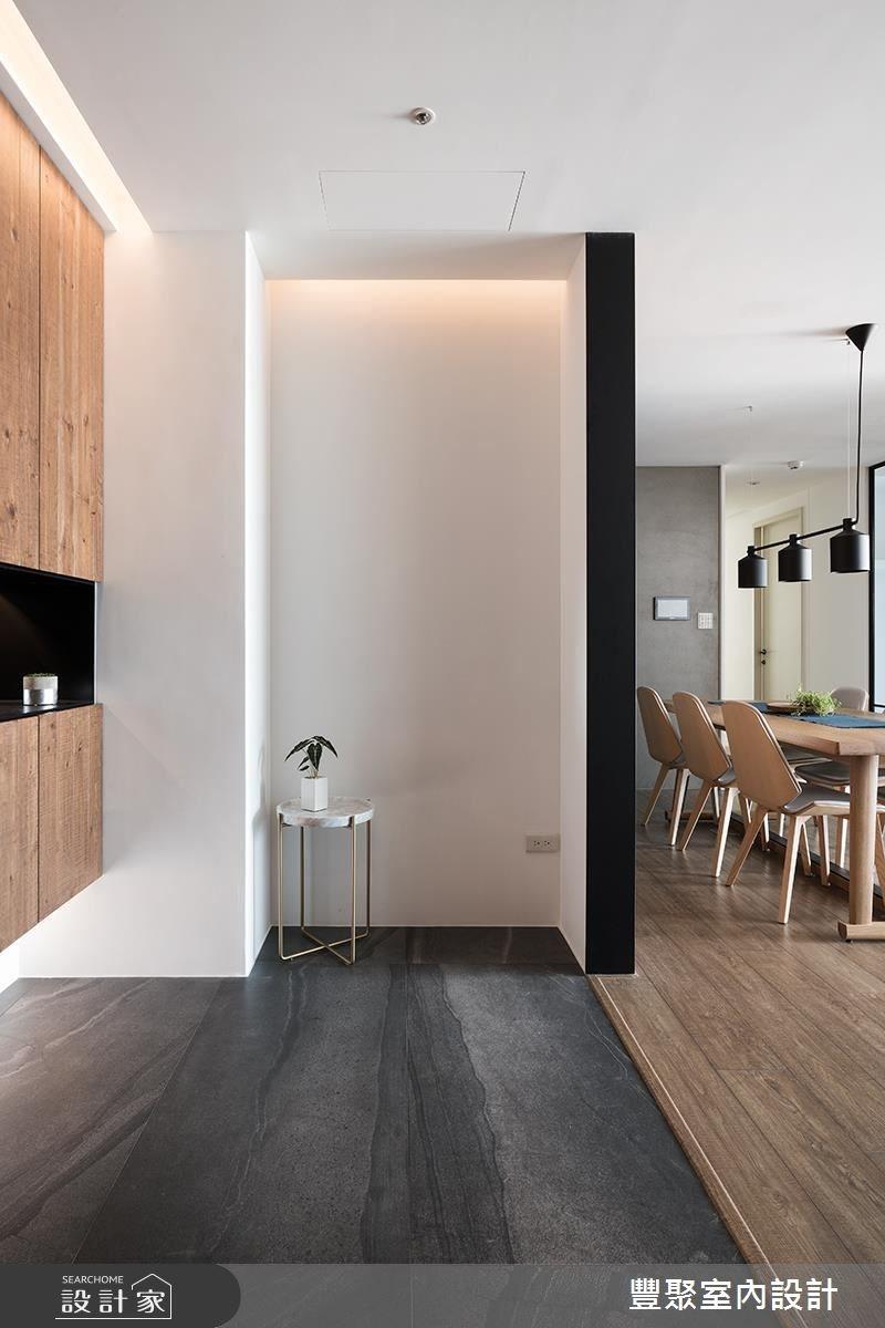 30坪新成屋(5年以下)_現代風玄關案例圖片_豐聚室內設計_豐聚_25之1
