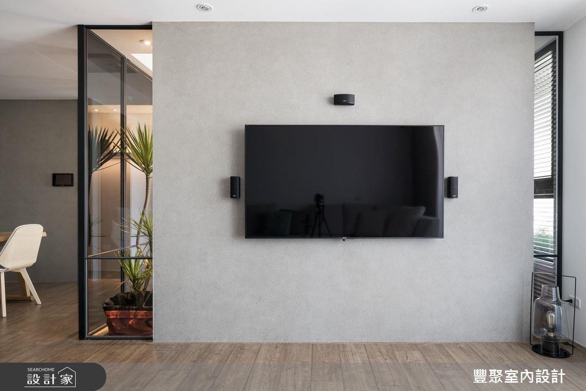 30坪新成屋(5年以下)_現代風客廳案例圖片_豐聚室內設計_豐聚_25之4