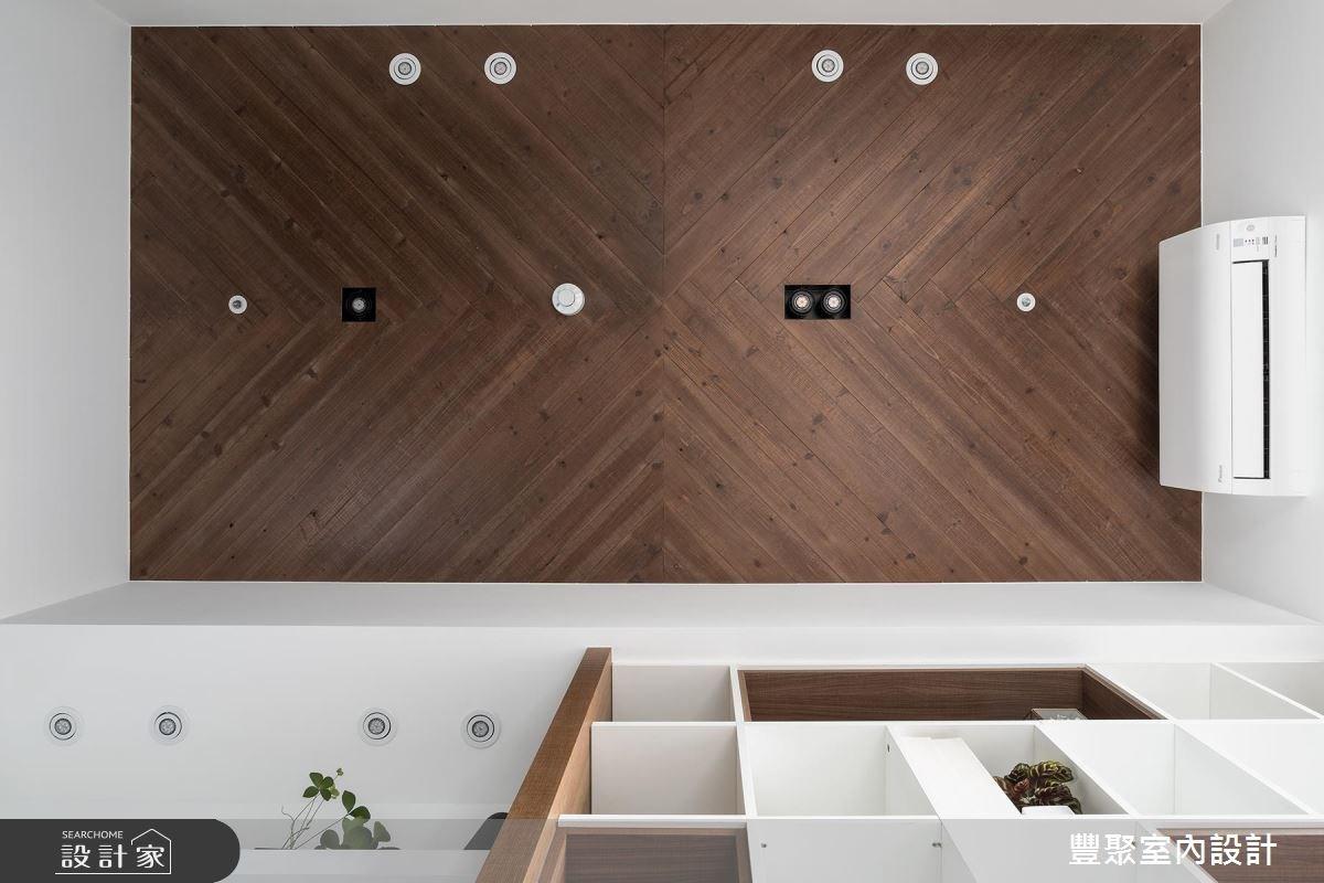 30坪新成屋(5年以下)_現代風書房案例圖片_豐聚室內設計_豐聚_25之19