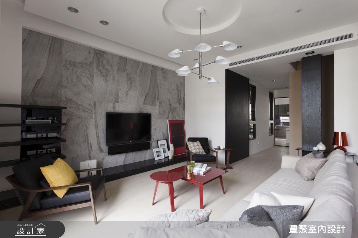 新成屋(5年以下)_現代風客廳案例圖片_豐聚室內設計_豐聚_26之2