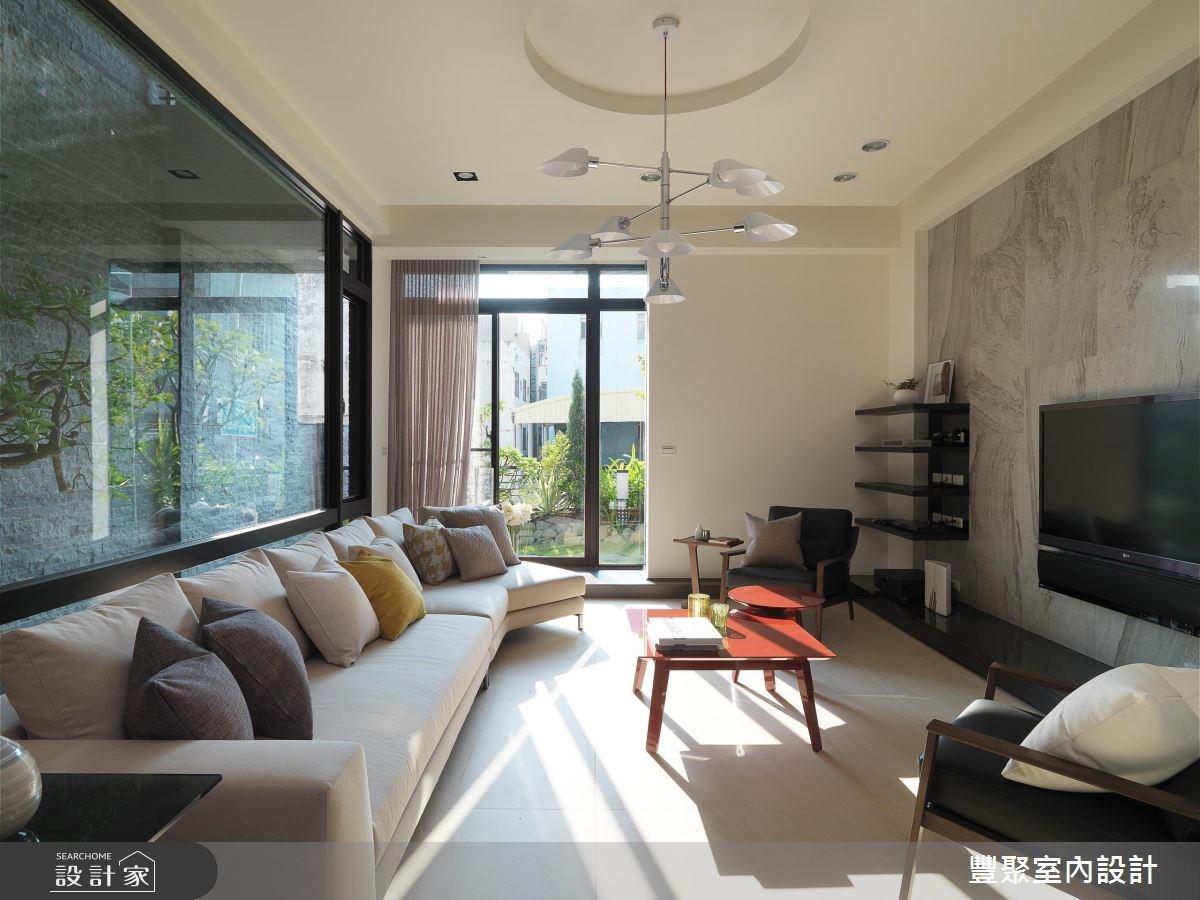 新成屋(5年以下)_現代風客廳案例圖片_豐聚室內設計_豐聚_26之3