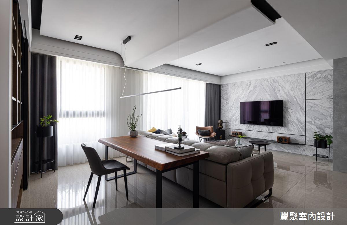40坪新成屋(5年以下)_現代風書房案例圖片_豐聚室內設計_豐聚_31之7