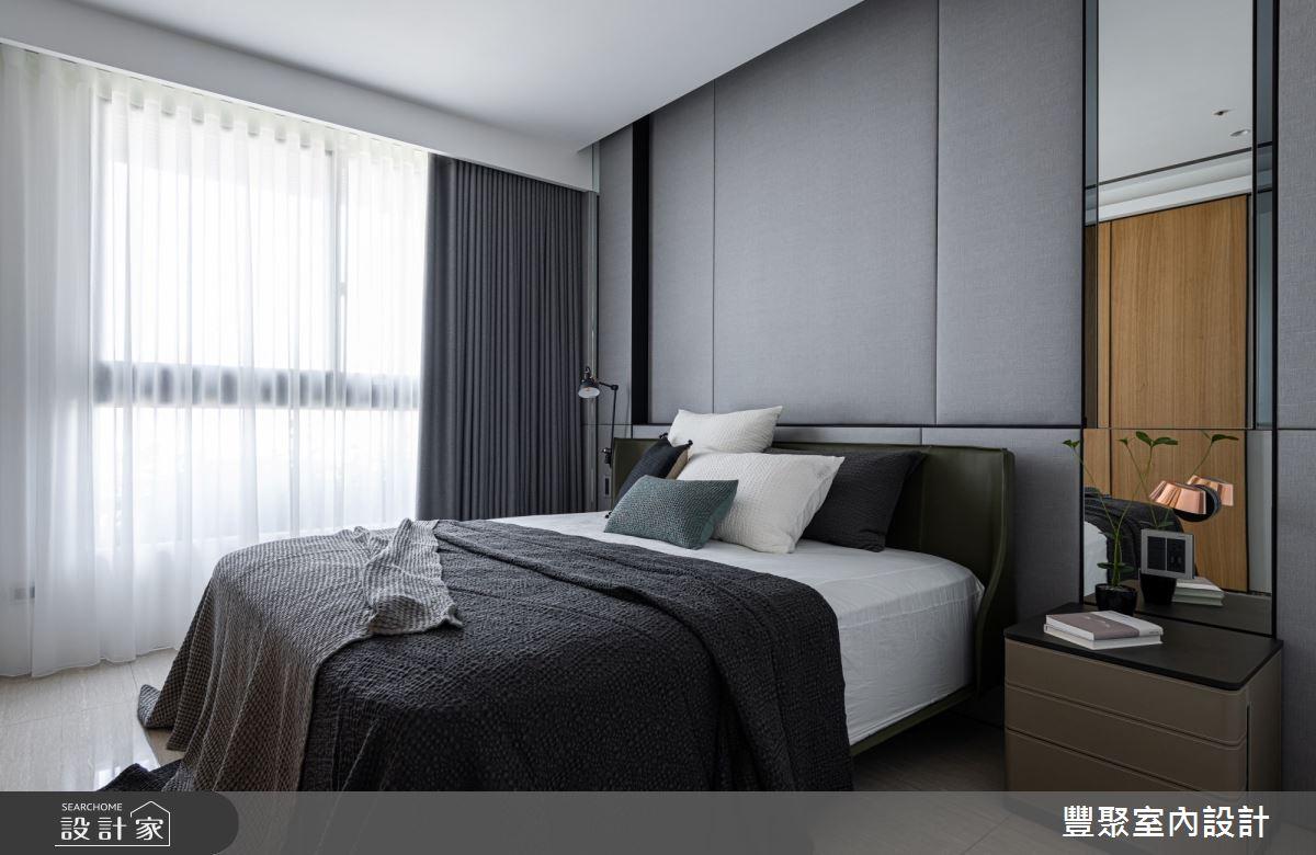 40坪新成屋(5年以下)_現代風臥室案例圖片_豐聚室內設計_豐聚_31之12