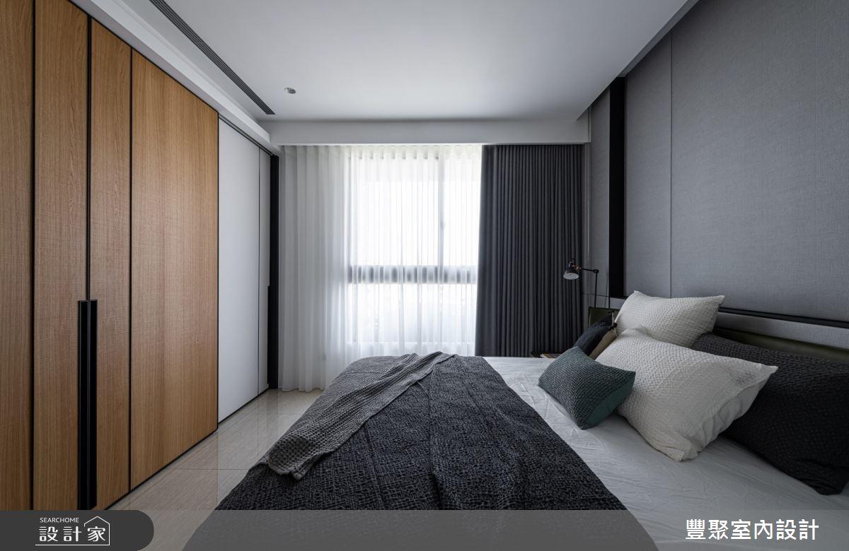 40坪新成屋(5年以下)_現代風臥室案例圖片_豐聚室內設計_豐聚_31之13