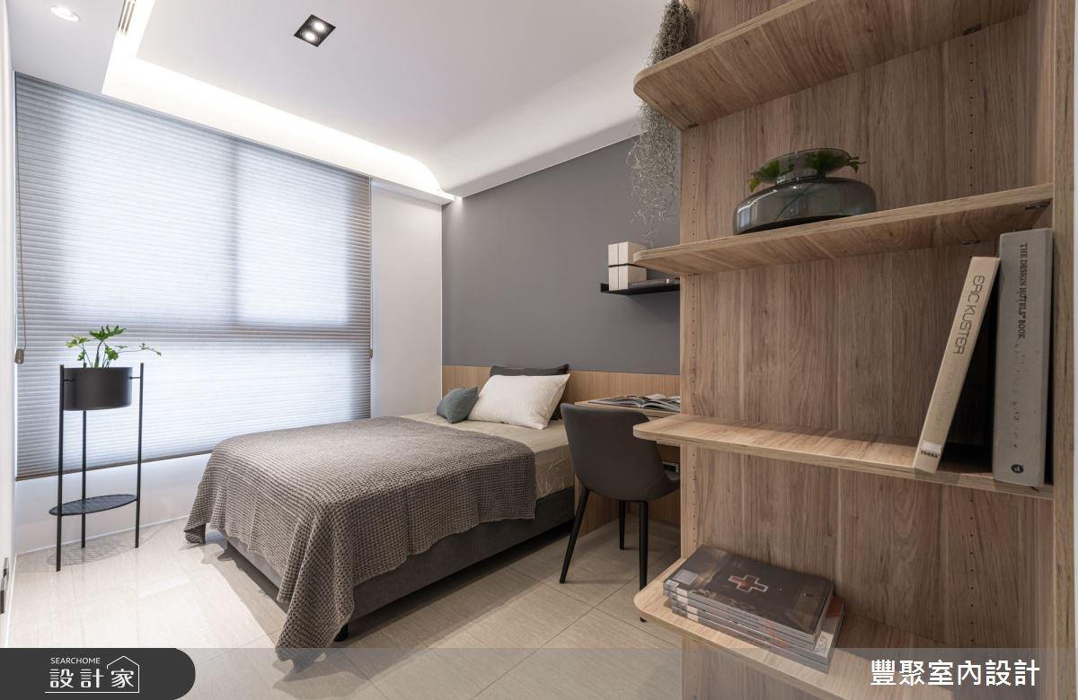 40坪新成屋(5年以下)_現代風臥室案例圖片_豐聚室內設計_豐聚_31之14